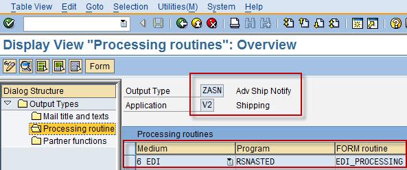 DivulgeSAP: Setup Output type and Partner Profile for